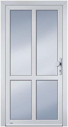Nebeneingangstüren aluminium türen