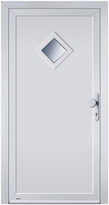 Nebeneingangstüren aluminium hörmann